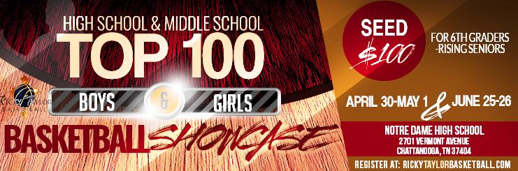 HS & MS Top 100 Showcase